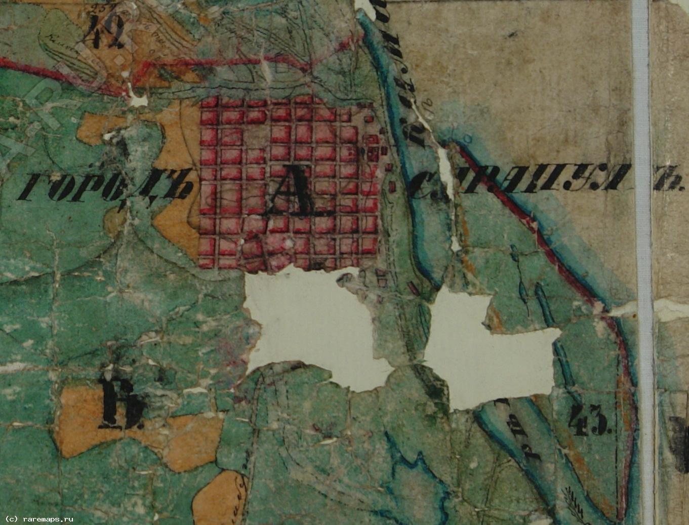 Карта Шуберта Vi-27